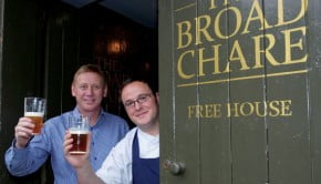 Steve Dunn, left, and Chris Eagle at The Broad Chare