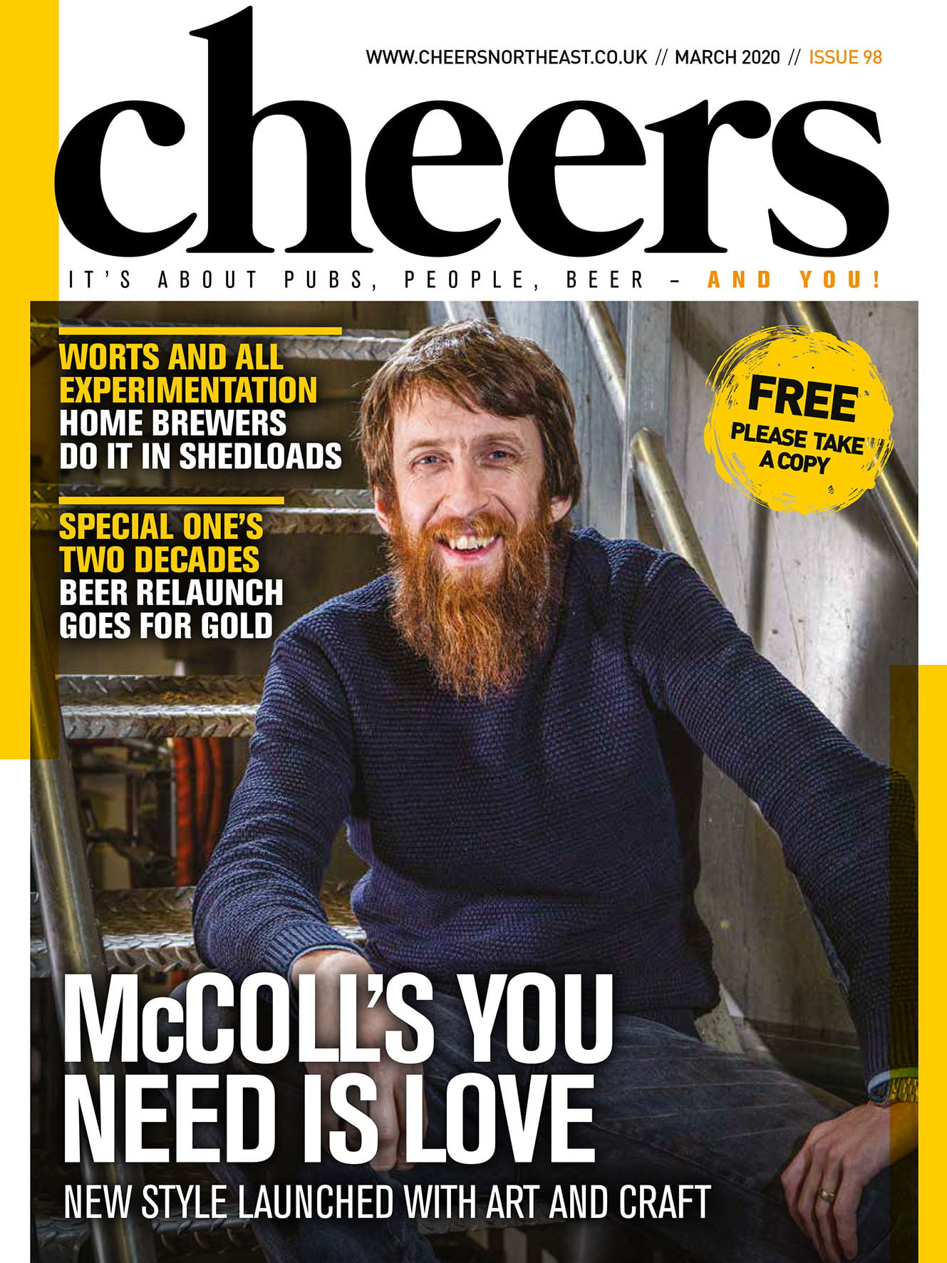 Cheers issue 98